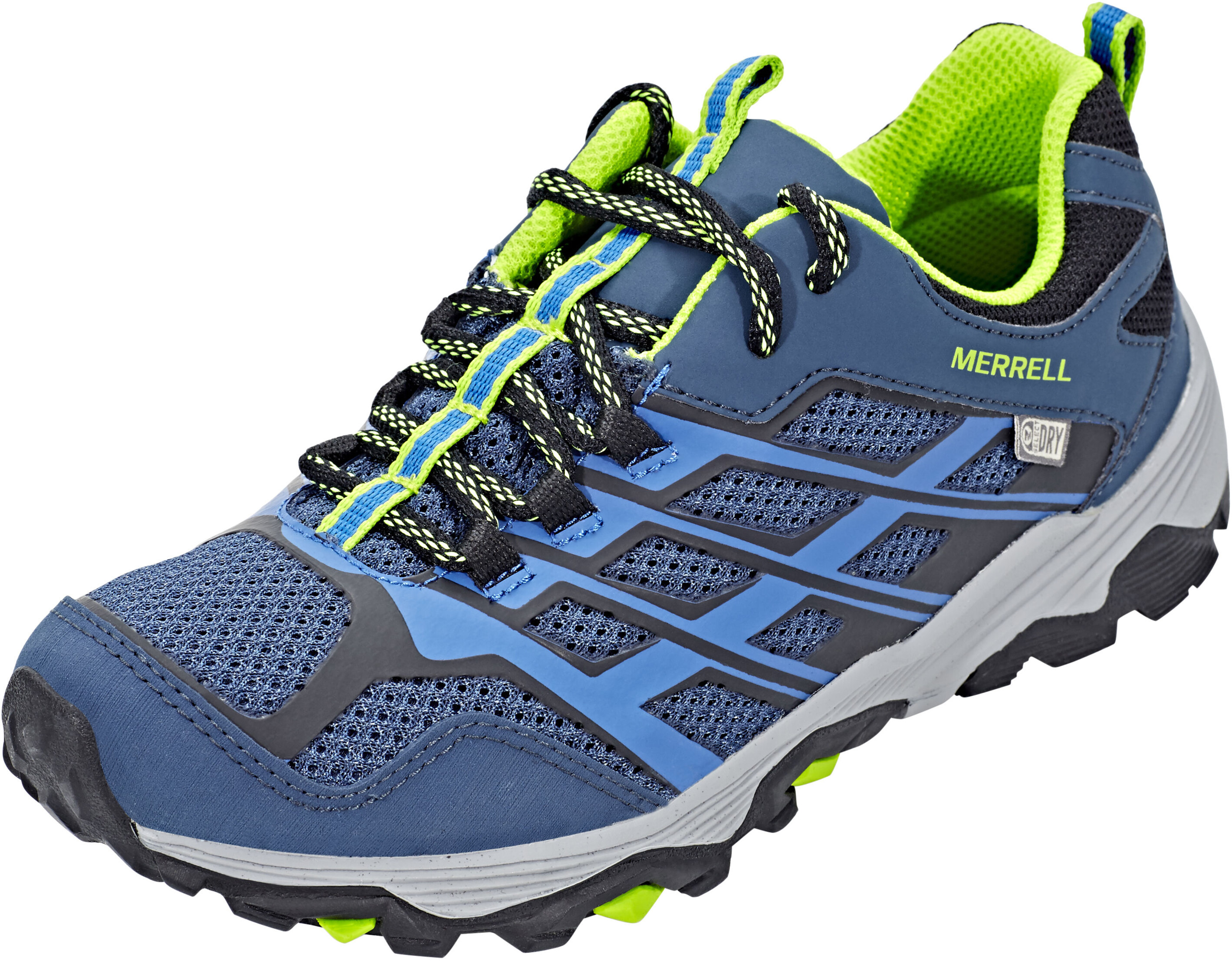 098824f9acfb Merrell Moab Fst Low WP Shoes Children blue at Addnature.co.uk
